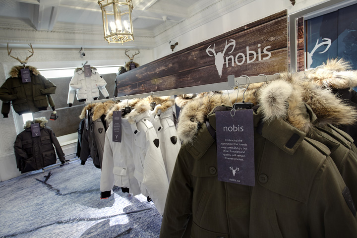 Nobis-Harrods-visual-merchandising-Green-Room-London