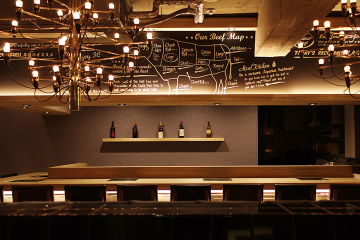 Yakaniku-Sakamoto-restaurant-by-design-office-Dress-Osaka-02