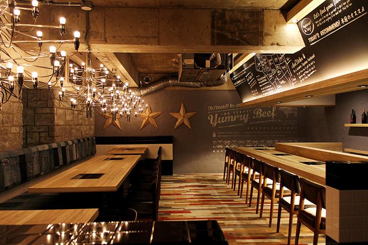 Yakaniku-Sakamoto-restaurant-by-design-office-Dress-Osaka